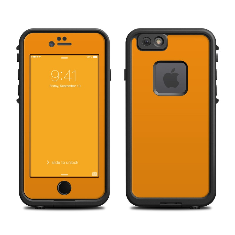iphone 6 lifeproof case lifeproof iphone 6 fre skin solid state orange by 14994