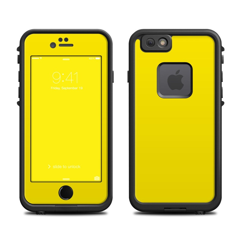 Lifeproof iPhone 6 Fre Case Skin - Solid State Yellow by Solid ... 7acb32796184