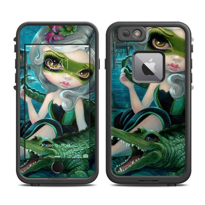 Lifeproof iPhone 6 Plus Fre Case Skin - Alligator Girl