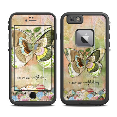 Lifeproof iPhone 6 Plus Fre Case Skin - Allow The Unfolding