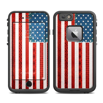 Lifeproof iPhone 6 Plus Fre Case Skin - American Tribe