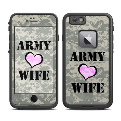 Lifeproof iPhone 6 Plus Fre Case Skin - Army Wife