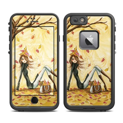Lifeproof iPhone 6 Plus Fre Case Skin - Autumn Leaves