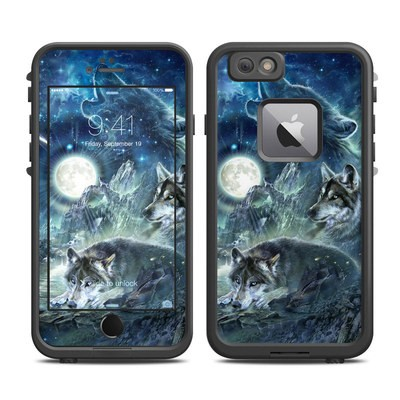 Lifeproof iPhone 6 Plus Fre Case Skin - Bark At The Moon