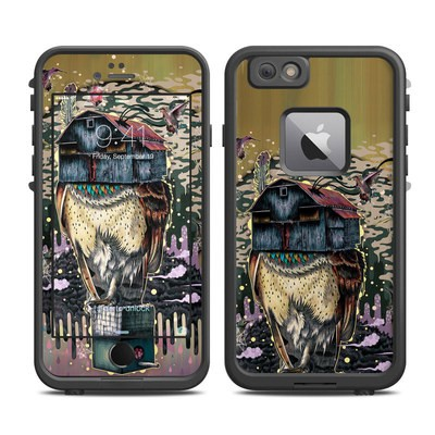 Lifeproof iPhone 6 Plus Fre Case Skin - Barn Owl Fortune