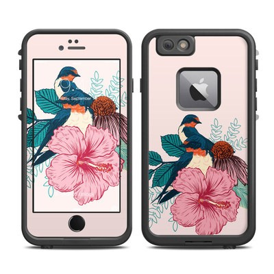 Lifeproof iPhone 6 Plus Fre Case Skin - Barn Swallows