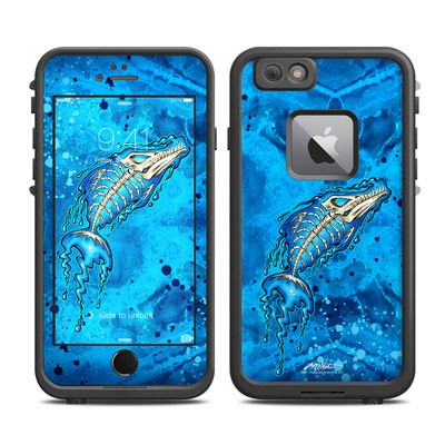 Lifeproof iPhone 6 Plus Fre Case Skin - Barracuda Bones