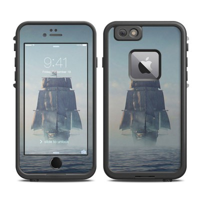 Lifeproof iPhone 6 Plus Fre Case Skin - Black Sails