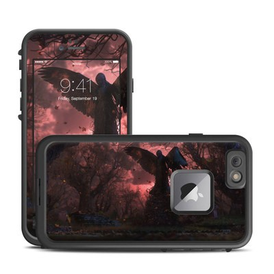 Lifeproof iPhone 6 Plus Fre Case Skin - Black Angel