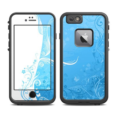 Lifeproof iPhone 6 Plus Fre Case Skin - Blue Crush