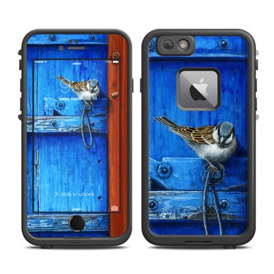 Lifeproof iPhone 6 Plus Fre Case Skin - Blue Door