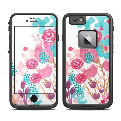 Lifeproof iPhone 6 Plus Fre Case Skin - Blush Blossoms