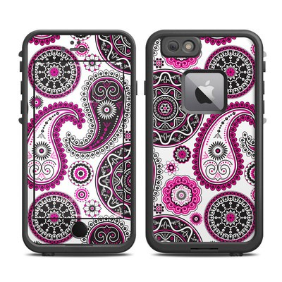 Lifeproof iPhone 6 Plus Fre Case Skin - Boho Girl Paisley