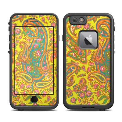 Lifeproof iPhone 6 Plus Fre Case Skin - Bombay Chartreuse