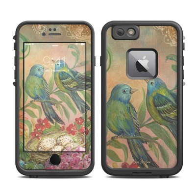 Lifeproof iPhone 6 Plus Fre Case Skin - Splendid Botanical