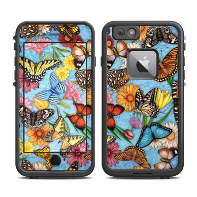 Lifeproof iPhone 6 Plus Fre Case Skin - Butterfly Land