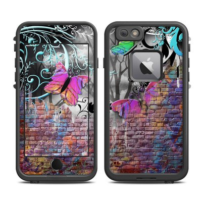 Lifeproof iPhone 6 Plus Fre Case Skin - Butterfly Wall