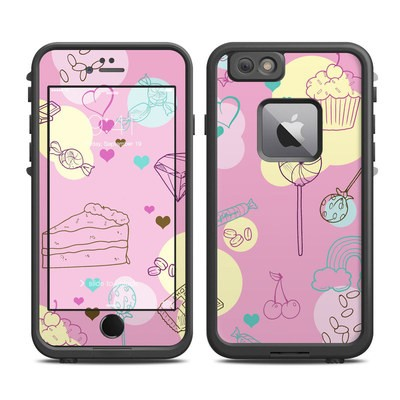 Lifeproof iPhone 6 Plus Fre Case Skin - Pink Candy