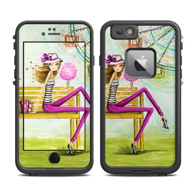 Lifeproof iPhone 6 Plus Fre Case Skin - Carnival Cotton Candy