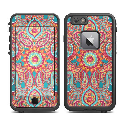 Lifeproof iPhone 6 Plus Fre Case Skin - Carnival Paisley