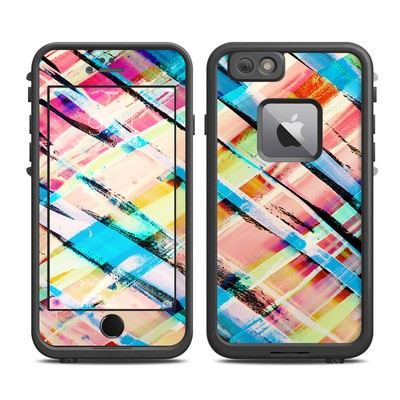Lifeproof iPhone 6 Plus Fre Case Skin - Check Stripe