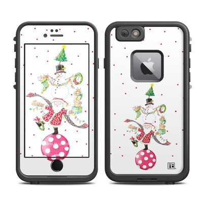 Lifeproof iPhone 6 Plus Fre Case Skin - Christmas Circus