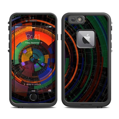 Lifeproof iPhone 6 Plus Fre Case Skin - Color Wheel
