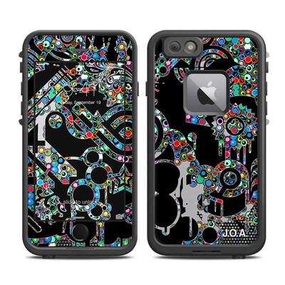 Lifeproof iPhone 6 Plus Fre Case Skin - Circle Madness