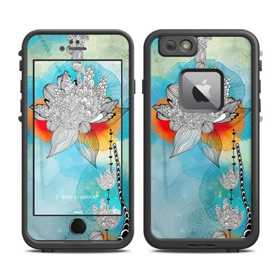 Lifeproof iPhone 6 Plus Fre Case Skin - Coral