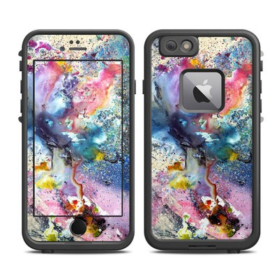 Lifeproof iPhone 6 Plus Fre Case Skin - Cosmic Flower