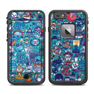 Lifeproof iPhone 6 Plus Fre Case Skin - Cosmic Ray