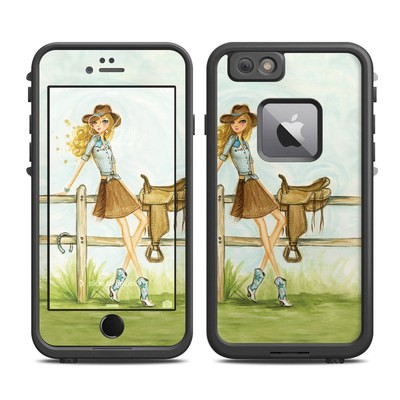 Lifeproof iPhone 6 Plus Fre Case Skin - Cowgirl Glam