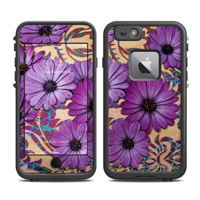 Lifeproof iPhone 6 Plus Fre Case Skin - Daisy Damask