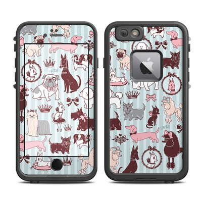Lifeproof iPhone 6 Plus Fre Case Skin - Doggy Boudoir