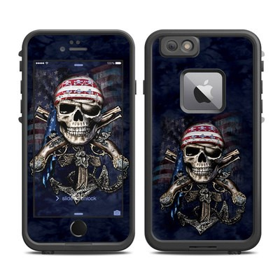 Lifeproof iPhone 6 Plus Fre Case Skin - Dead Anchor