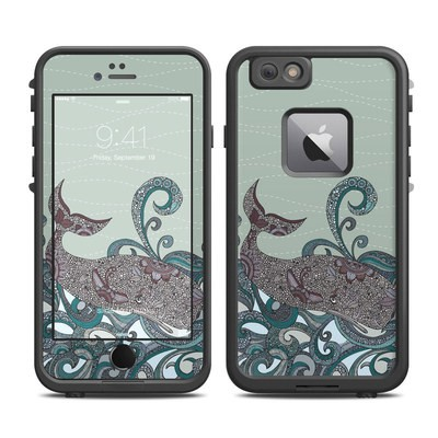 Lifeproof iPhone 6 Plus Fre Case Skin - Deep Blue Me