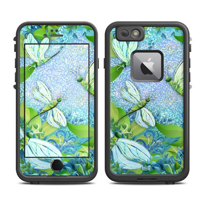 Lifeproof iPhone 6 Plus Fre Case Skin - Dragonfly Fantasy