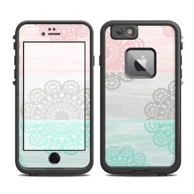 Lifeproof iPhone 6 Plus Fre Case Skin - Doily