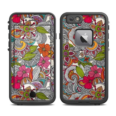 Lifeproof iPhone 6 Plus Fre Case Skin - Doodles Color