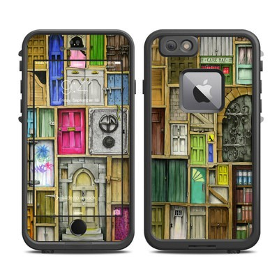Lifeproof iPhone 6 Plus Fre Case Skin - Doors Closed