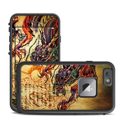 Lifeproof iPhone 6 Plus Fre Case Skin - Dragon Legend