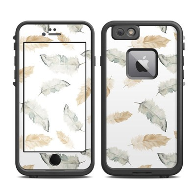 Lifeproof iPhone 6 Plus Fre Case Skin - Feathers