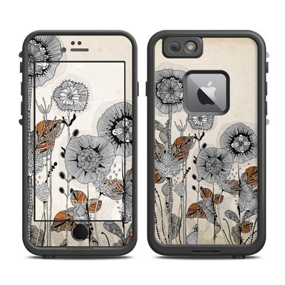 Lifeproof iPhone 6 Plus Fre Case Skin - Four Flowers