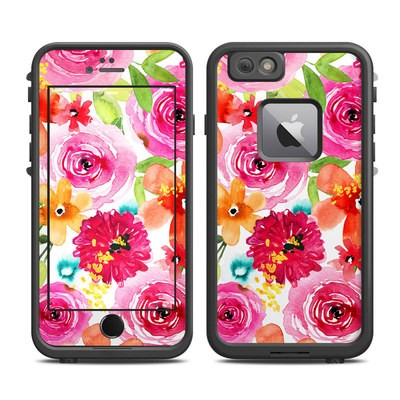 Lifeproof iPhone 6 Plus Fre Case Skin - Floral Pop