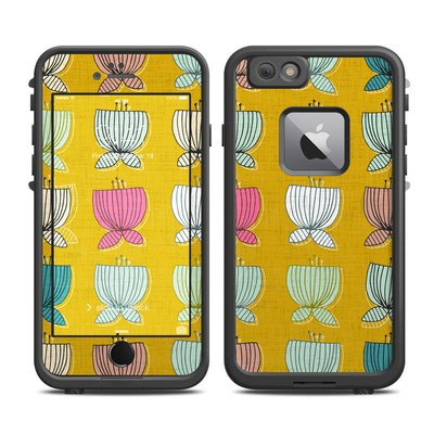 Lifeproof iPhone 6 Plus Fre Case Skin - Flower Cups