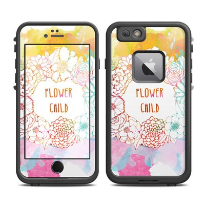 Lifeproof iPhone 6 Plus Fre Case Skin - Flower Child