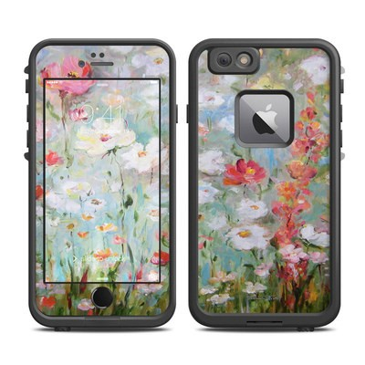 Lifeproof iPhone 6 Plus Fre Case Skin - Flower Blooms