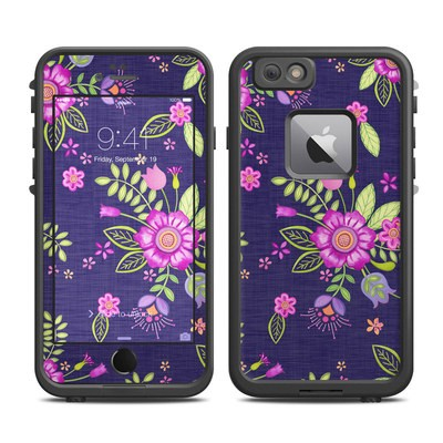 Lifeproof iPhone 6 Plus Fre Case Skin - Folk Floral