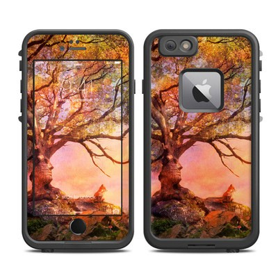 Lifeproof iPhone 6 Plus Fre Case Skin - Fox Sunset