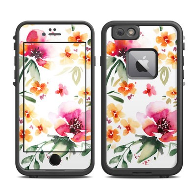 Lifeproof iPhone 6 Plus Fre Case Skin - Fresh Flowers